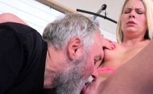 Teen Whore Martina D Has Old Guy Lick Her Cunt