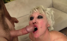 Mature Slut Gets Kissed On Her Ass And Pussy Licked She