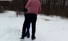 girlfriend fucked outdoors in the show