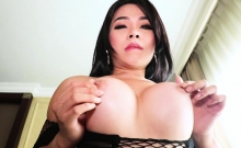 Big Titted Teen Ladyboy Sucking And Anal Doggystyled