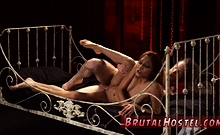 Female dominating man bondage and ultimate surrender punishm