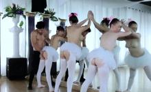 Russian teen Ballerinas