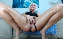 Solo Blonde European MILF Babe