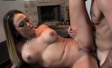 Milf banged by hunk dude and squirts