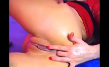 Babe Candice Luca Solo Fingering