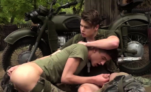 Two Twinky Army Men Fuck