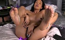 sasha foot fetish solo