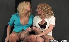 Unusual Girls Fuck The Biggest Belt Dicks And Spray Sperm Ev