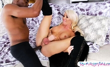 Busty Shemale Aubrey Kate In An Orgasmic Bbc Ride