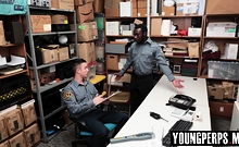 Boss calls in one of his LP officers to confront him
