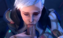 Heroes from Video Games Gets Brutal Fuck and Creampied