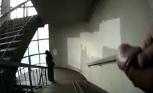 Flashing On The Stairs